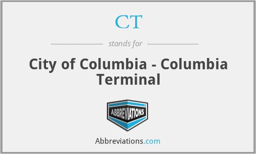 CT - City of Columbia - Columbia Terminal