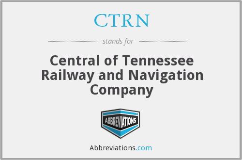 CTRN - Central of Tennessee Railway and Navigation Company