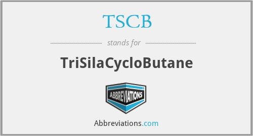 TSCB - TriSilaCycloButane