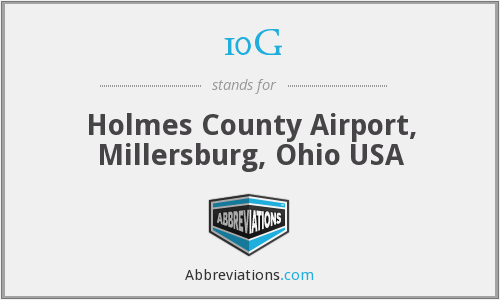 10G - Holmes County Airport, Millersburg, Ohio USA