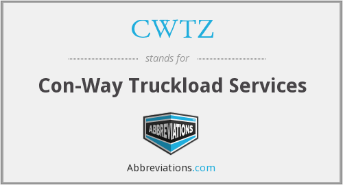 CWTZ - Con-Way Truckload Services