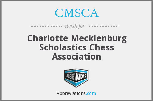 CMSCA - Charlotte Mecklenburg Scholastics Chess Association