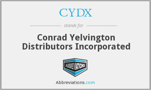 CYDX - Conrad Yelvington Distributors Incorporated