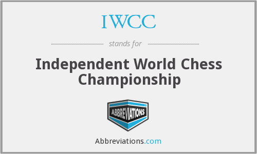 IWCC - Independent World Chess Championship