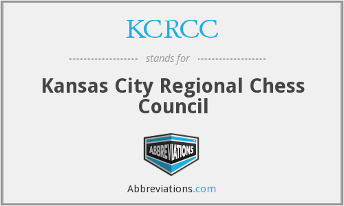 What does KCRCC stand for?