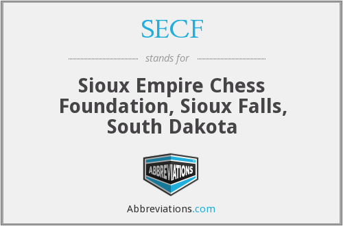 SECF - Sioux Empire Chess Foundation, Sioux Falls, South Dakota