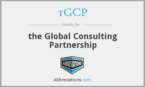 tGCP - the Global Consulting Partnership