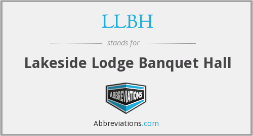 LLBH - Lakeside Lodge Banquet Hall