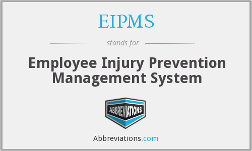 EIPMS - Employee Injury Prevention Management System