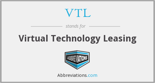 VTL - Virtual Technology Leasing