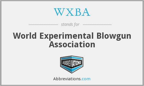 WXBA - World Experimental Blowgun Association