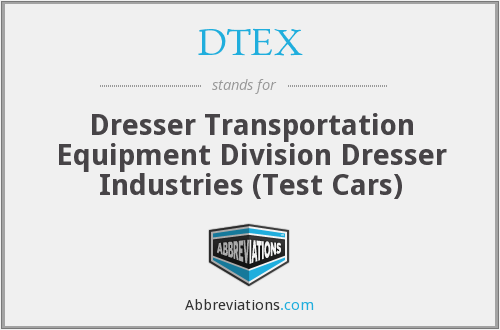 What does DTEX stand for?