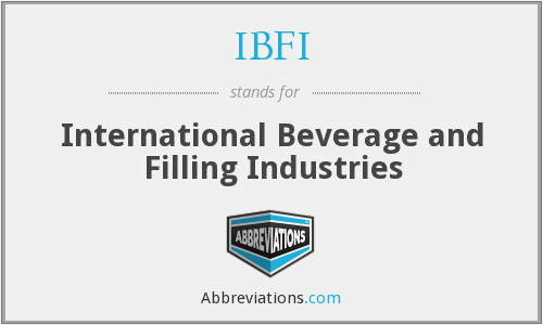 IBFI - International Beverage and Filling Industries