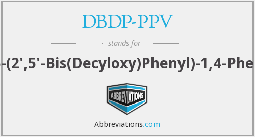 What does DBDP-PPV stand for?