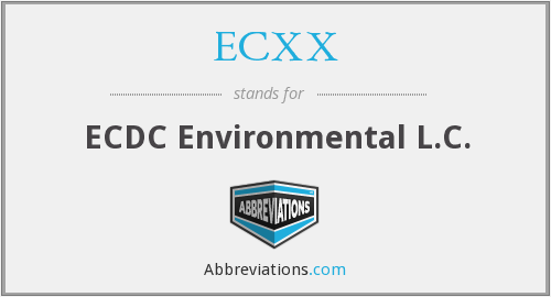 What does ECXX stand for?