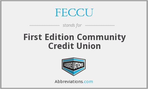 FECCU - First Edition Community Credit Union