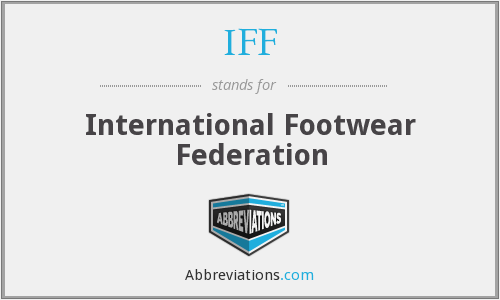 What does IFF stand for?