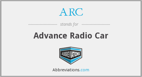 ARC - Advance Radio Car