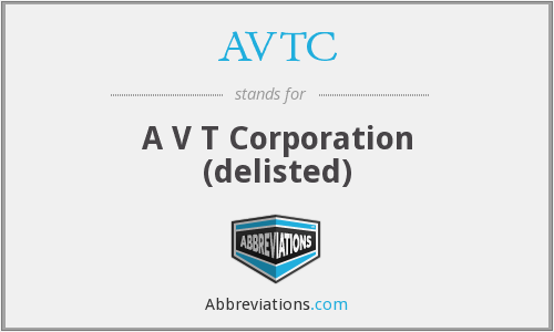 What does AVTC stand for?