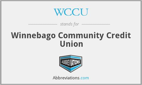 WCCU - Winnebago Community Credit Union