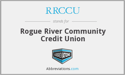 RRCCU - Rogue River Community Credit Union