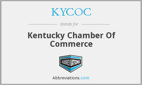 KYCOC - Kentucky Chamber Of Commerce