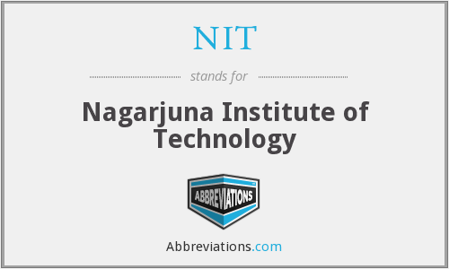 NIT - Nagarjuna Institute of Technology