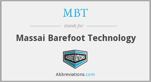 MBT - Massai Barefoot Technology