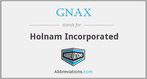 GNAX - Holnam Incorporated