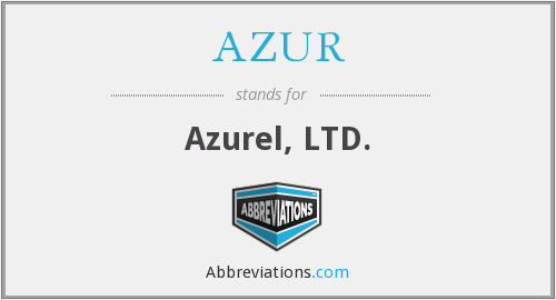 What does AZUR stand for?