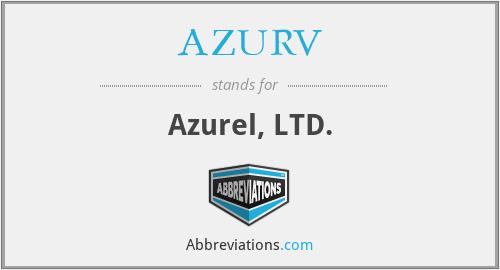 AZURV - Azurel, LTD.