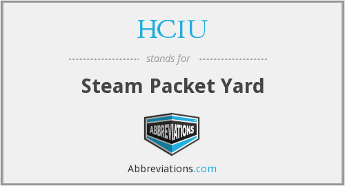 HCIU - Steam Packet Yard