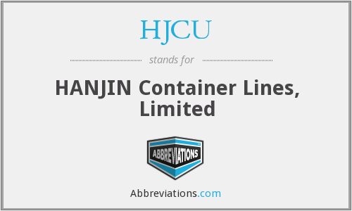 HJCU - HANJIN Container Lines, Limited