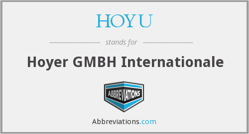 HOYU - Hoyer GMBH Internationale