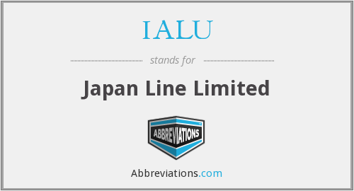 What does IALU stand for?
