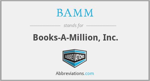 BAMM - Books-A-Million, Inc.