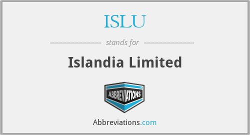 ISLU - Islandia Limited