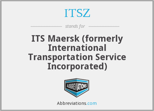 What does ITSZ stand for?