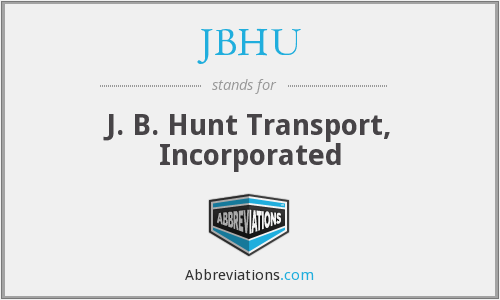 What does JBHU stand for?
