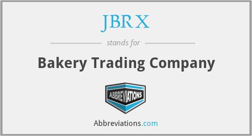 JBRX - Bakery Trading Company