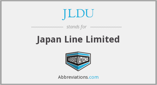 What does JLDU stand for?