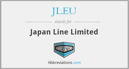 JLEU - Japan Line Limited