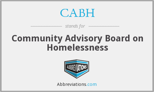 What does CABH stand for?