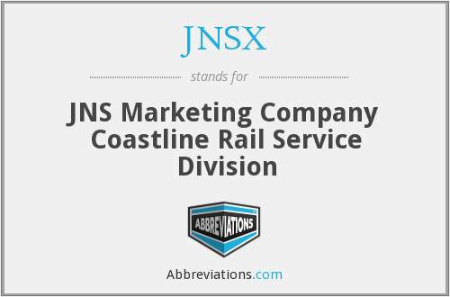 What does JNSX stand for?