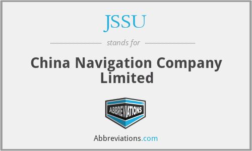 JSSU - China Navigation Company Limited