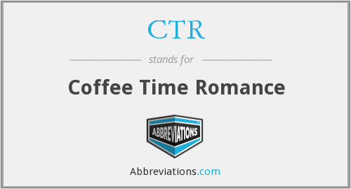CTR - Coffee Time Romance