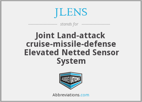 What does JLENS stand for?