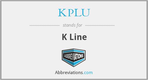 KPLU - K Line