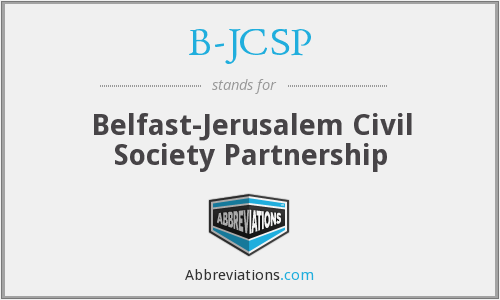 B-JCSP - Belfast-Jerusalem Civil Society Partnership
