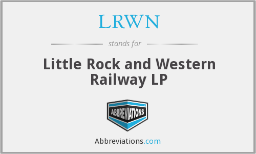 What does LRWN stand for?